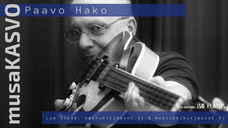 Musakasvo Heinola: Paavo Hako
