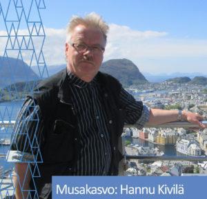 Musakasvo Hannu Kivilä.