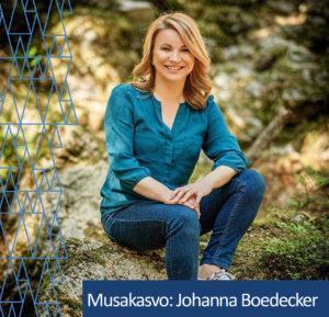 Musakasvo Johanna Boedecker.