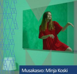 Musakasvo Minja Koski.