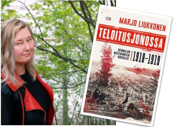 Kirjailijavieraana Marjo Liukkonen