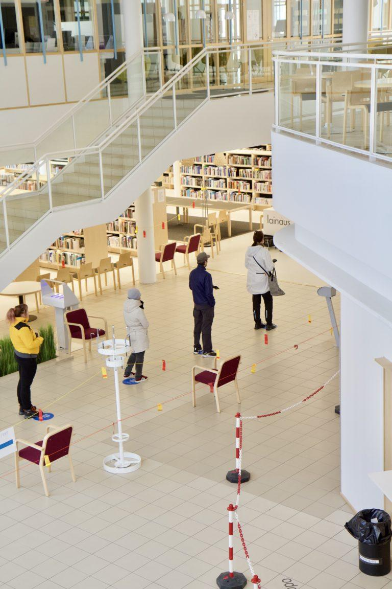 Libraries in Lahti Opened to the Public on 1 June