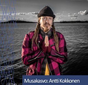 Musakasvo Antti Kokkonen.