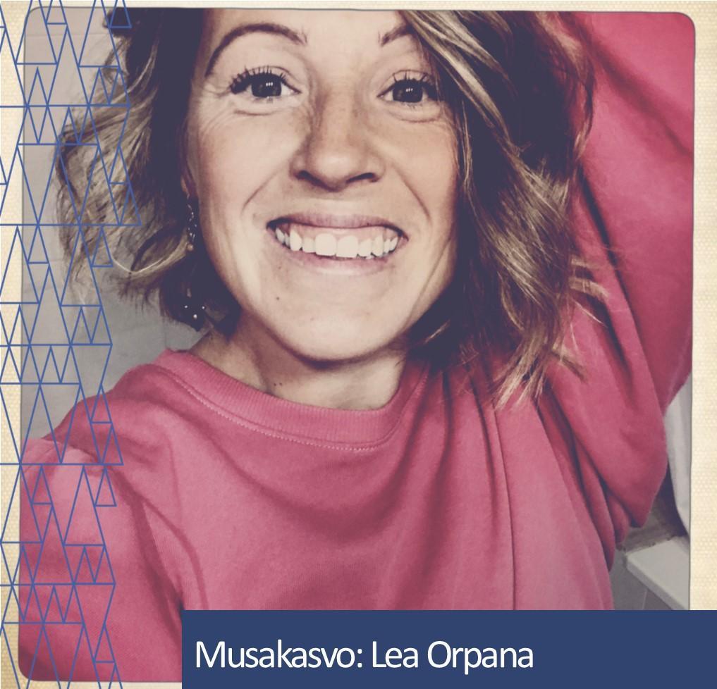 Musakasvo Lea Orpana