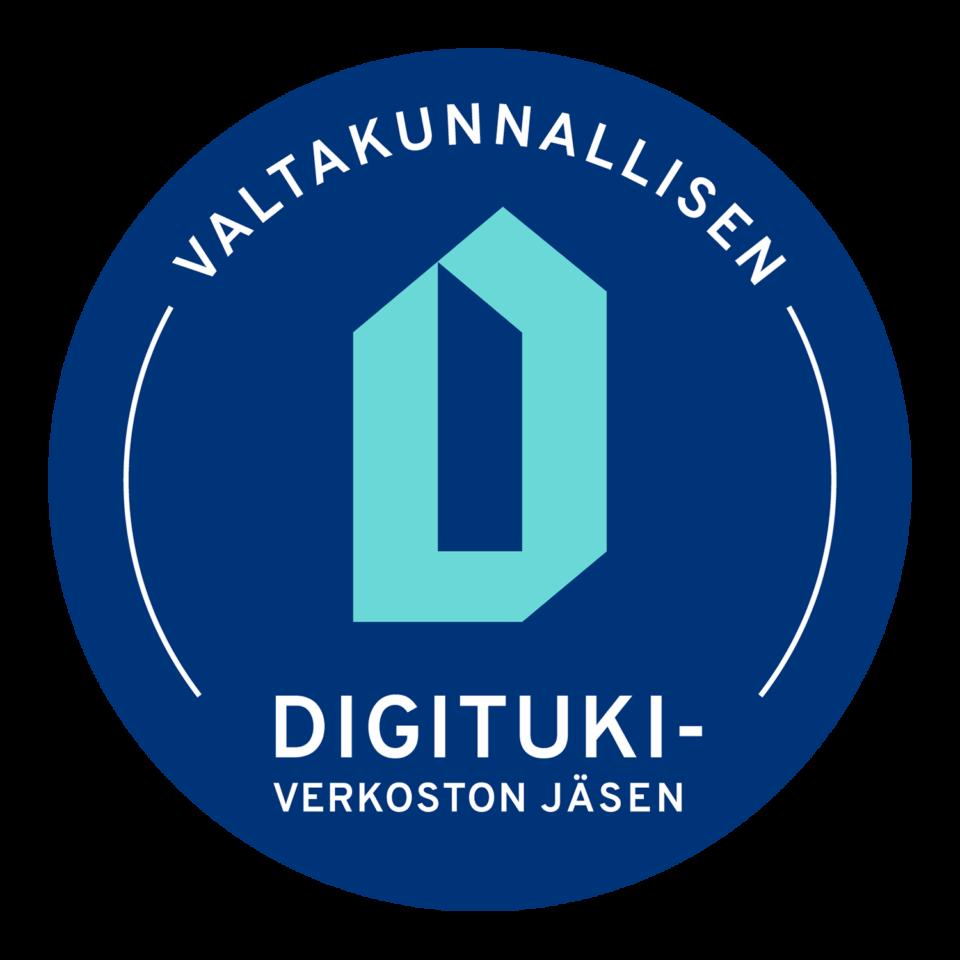 Valtakunnallisen Digitukiverkoston logo